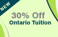 30% off ontario tuition
